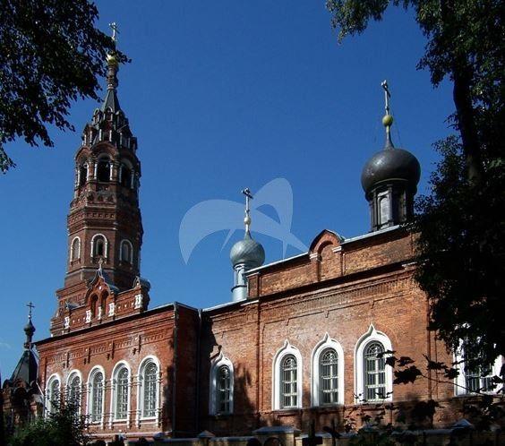 Церковь Покрова Пресвятой Богородицы, 1869-1895 гг., Покровско-Васильевский монастырь