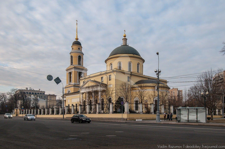 Церковь Большое Вознесение, 1848 г., арх. А.Г. Григорьев
