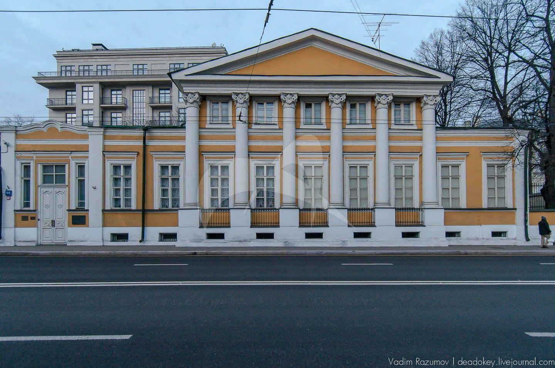 Главный дом, городской усадьбы 1-я половина XIX в.