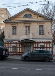Западный флигель, городской усадьбы (дом Бобринских), конец XVIII в.