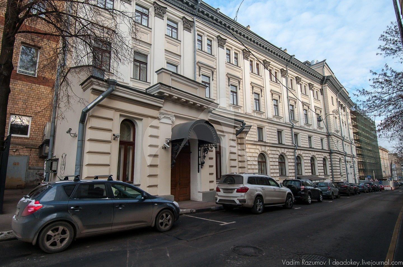 Здание Московской консерватории, 1895-1901 гг.,  арх. В.П.Загорский