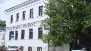 Дом причта Армянской церкви Воздвижения Креста, 1781 г., 1832 г., 1868 г., арх. Ю.М. Фельтен