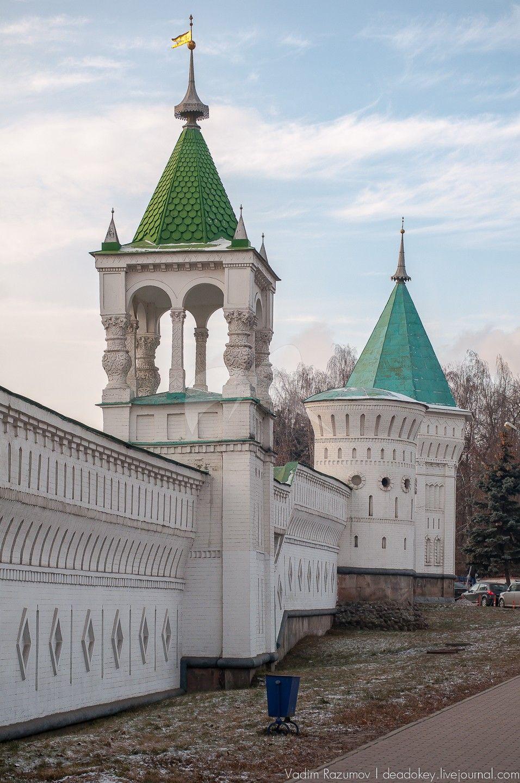 Стены ограды, Николо-Угрешский монастырь, ХVI-ХVII вв.
