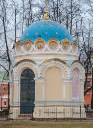 Часовня Святителя Николая, Николо-Угрешский монастырь, ХVI-ХVII вв.