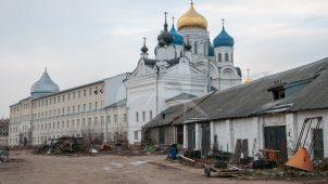 Склад на хозяйственном дворе, Николо-Угрешский монастырь, ХVI-ХVII вв.