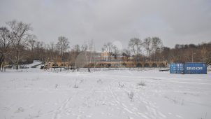 Ограда, ворота, парк, усадьба А.К.Разумовского