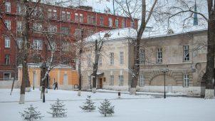 Жилой флигель (богадельня), 1841 г., 187 г., городская усадьба Разумовских