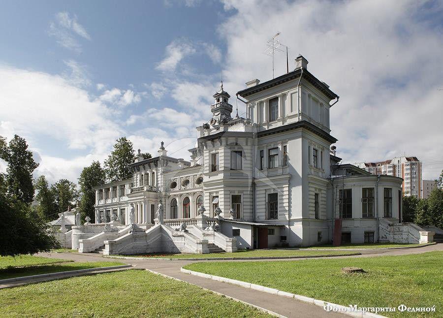 Главный дом, усадьба «Грачевка», 1899-1900 гг., арх. Л.Н. Кекушев, инж. Г.А. Кайзер