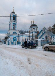 Тихвинская церковь с оградой и воротами, 1839, 1855 гг.