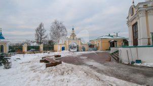 Ограда церковного комплекса, усадьба Гребнево, XVIII-ХIX вв.