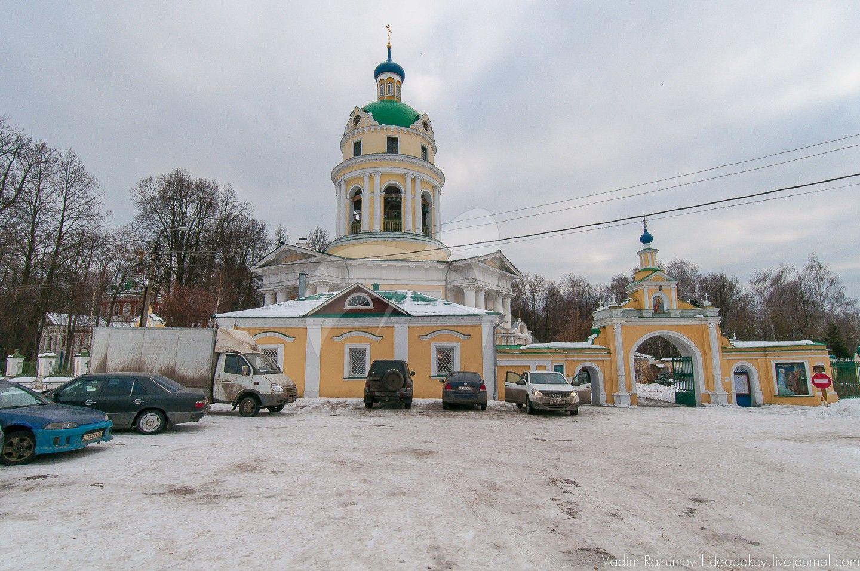 Ограды церковного комплекса, усадьба Гребнево, XVIII-ХIX вв.
