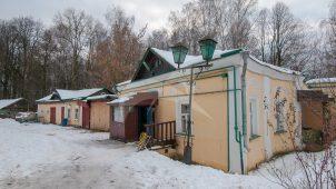 Дом причта южный, усадьба Гребнево, XVIII-ХIX вв.