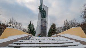 Памятный знак в честь Героя Советского Союза А.Г.Дудкина, 1973 г., авторы Макаров Ю.А., Фролов И.С.