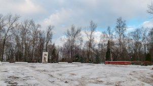 Кладбище советских воинов, 1941 г.