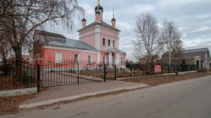 Церковь Бориса и Глеба, 1726 г.