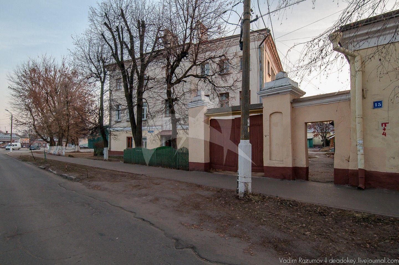 Ворота, усадьба Левина