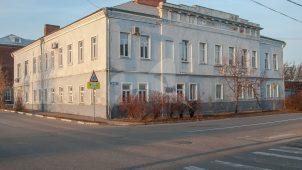 Двор гостиничный (фрагменты), перваяполовина XIX в.