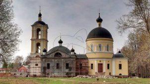 Церковь Спаса Всемилостивого, 1809-1853 гг.