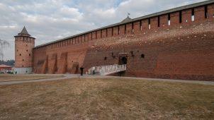 Крепостные стены, Ансамбль Кремля, ХVI в.