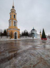 Колокольня, Ансамбль Ново-Голутвинского монастыря, ХVII-ХVIII вв.