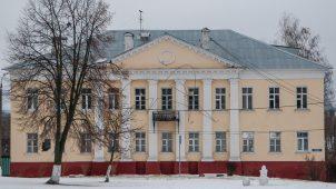 Здание Духовного училища, ХIХ в.