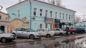 Здание большевистского клуба «Интернационал», где в 1917 г. размещался Коломенский уком РСДРП(б).