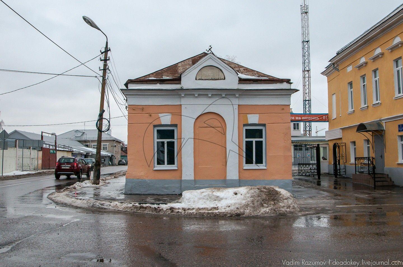 Флигель северный, усадьба Константиновых (пожарная часть)