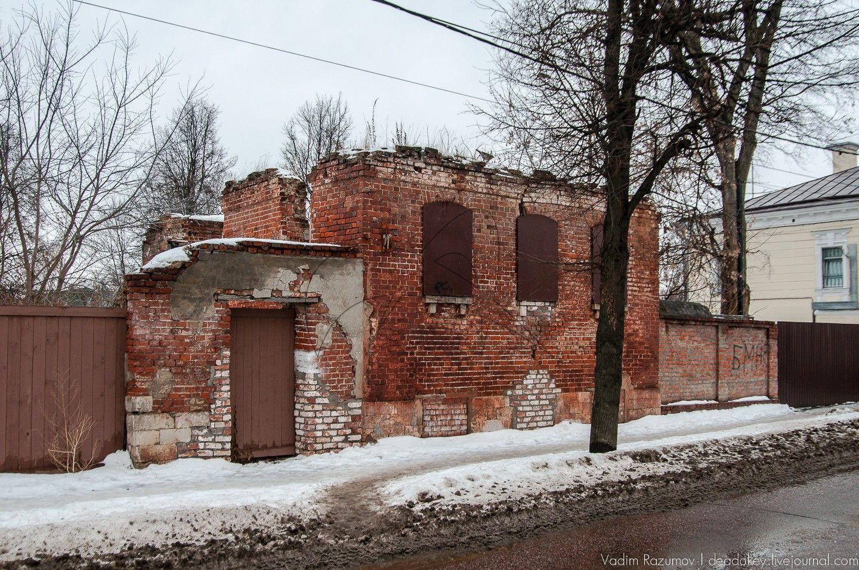Флигель жилой, вторая треть XIX в., усадьба городская