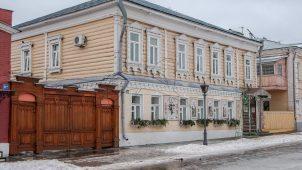 Здание, где в 1918 г. размещался уездный исполком Совета рабочих, солдатских и крестьянских депутатов