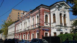 Городская усадьба П.Ф. Секретарева, XIX в., арх. Н.И.Козловский