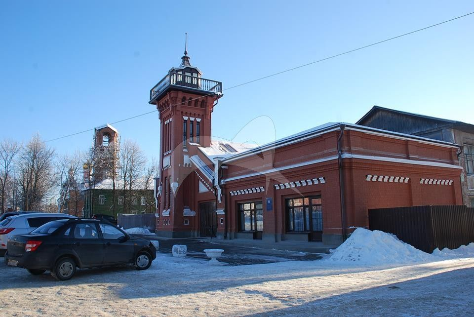 Каланча, комплекс пожарного депо, начало ХХ в.