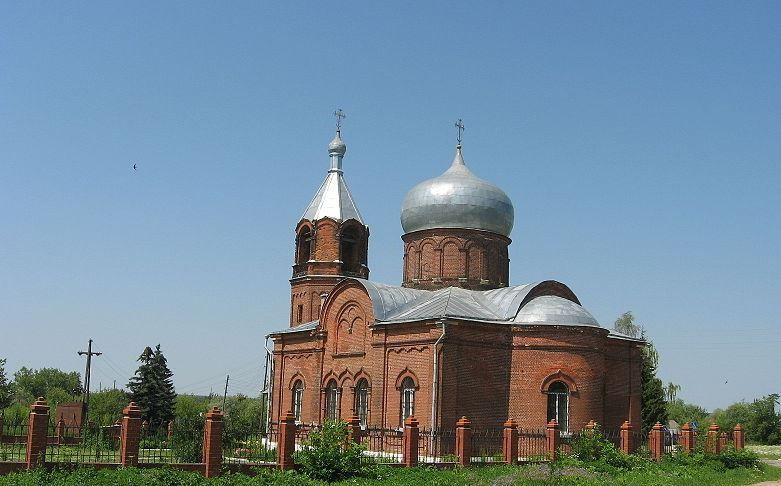 Церковь Успения Пресвятой Богородицы с оградой, 1868 г.