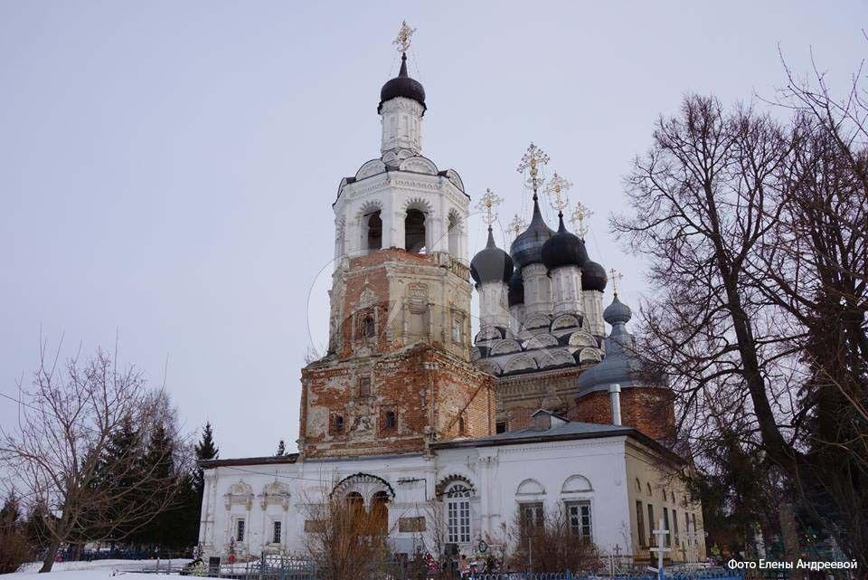 Троицкая церковь, 1700 г., XIX в.