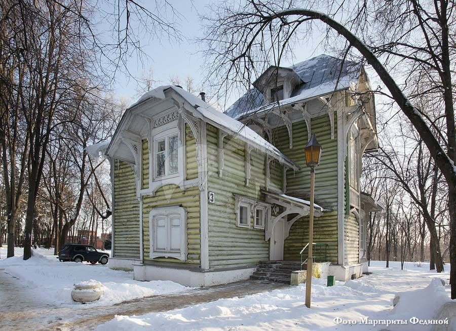 Финский домик, усадьба «Райки», арх. Л.Н. Кекушев