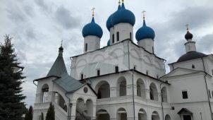 Церковь преподобного Сергия Радонежского с церковью святителя Николая и ризницей, Высоцкий монастырь, ХV-XVIII вв.