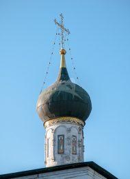 Никольская церковь при больничных палатах, 1652 г., Ансамбль Новоспасского монастыря