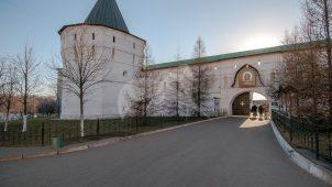 Башня угловая юго-восточная, Ансамбль Новоспасского монастыря