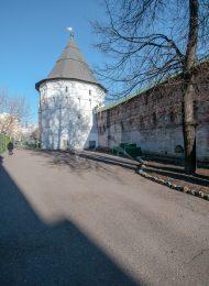 Башня угловая северо-восточная со служебной постройкой, Ансамбль Новоспасского монастыря