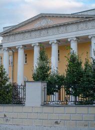 Городская усадьба, конец XVIII в. — начало XIX в. с палатами XVII в. В интерьерах росписи, начало XIX в.