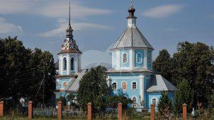 Церковь Тихвинской Божьей Матери, 1758 г.