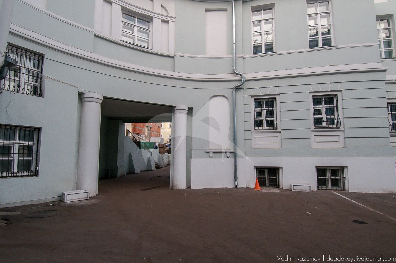 Флигель западный, дома Меншикова