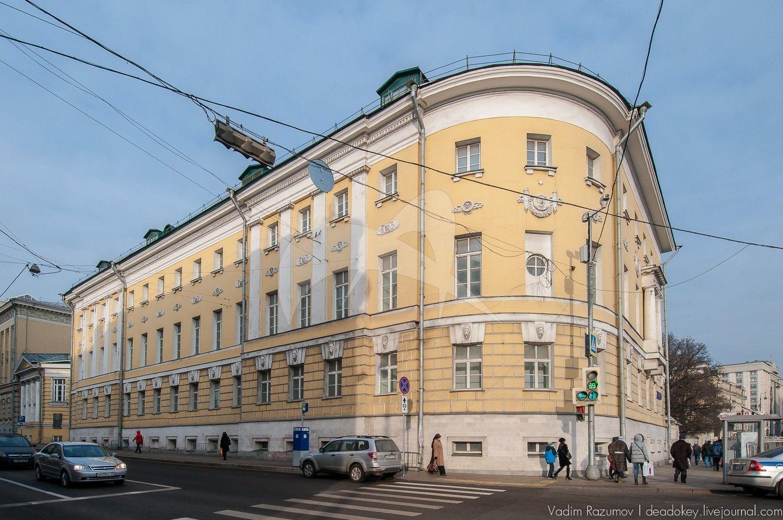 Зоологический и Ботанический институты, 1896-1902 гг., архитектор К.М. Быковский