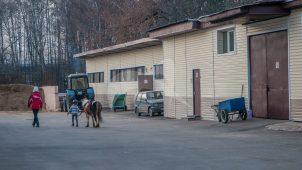 Склады для фуража, 1950-1960-ее гг., арх. Б.И. Аверинцев, комплекс конно-спортивной школы в Измайлово