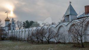 Пилоны ограды восточной части пруда, Николо-Угрешский монастырь, ХVI-ХVII вв.