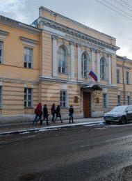 Гостевой и служебный флигели, 1-я половина XIX в., городская усадьба Разумовских