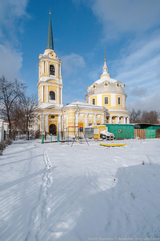 Церковь Вознесения на Гороховом поле, 1790-1793 гг., арх. М.Ф. Казаков