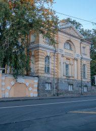 Боковой западный флигель, XVIII-XIX вв., городская усадьба Баташева