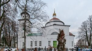 Спасская церковь, 1828 г.