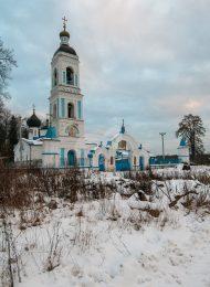 Церковь Владимирской иконы Божией Матери, 1703 г., 1830-1836 гг.