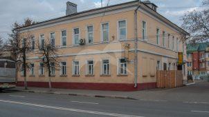 Главный дом, усадьба городская, первой половины XIX в. Здание реввоенсовета, где 26 октября 1917 г. была провозглашена Советская власть в Коломенском уезде